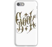 19th Century Cookbook Cover Graphic iPhone Case/Skin