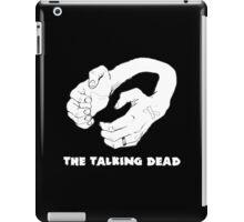 Handset Logo with text iPad Case/Skin
