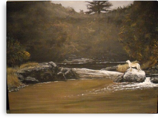 The Intruder from A Wyeth by Jsimone