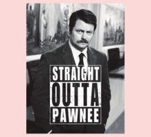 Striaght Outta Pawnee Kids Tee