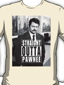 Striaght Outta Pawnee T-Shirt