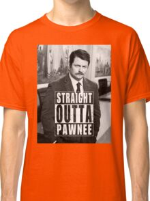 Striaght Outta Pawnee Classic T-Shirt