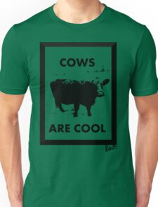 Cows Are Cool Unisex T-Shirt