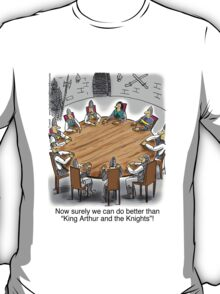 King Arthur and the Knights of the Round Table T-Shirt