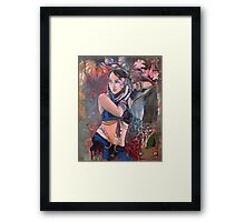 The Nouveau Gypsy Framed Print