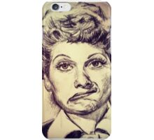 LUCILLE BALL PORTRAIT iPhone Case/Skin