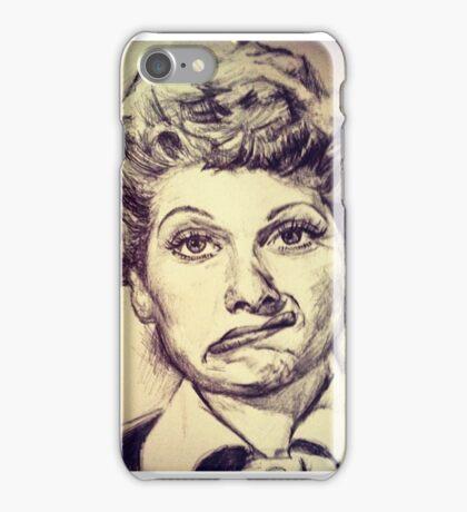 LUCILLE BALL PORTRAIT iPhone Case/Skin