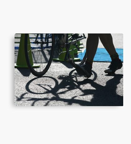Always Tri - Savageman Triathlon Canvas Print