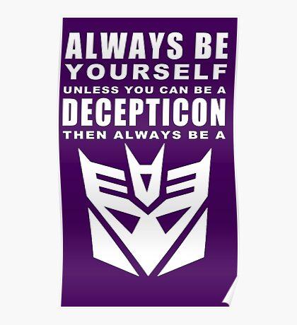 Always - Decepticon Poster