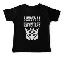 Always - Decepticon Baby Tee