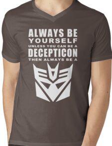 Always - Decepticon Mens V-Neck T-Shirt