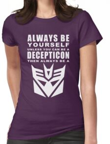 Always - Decepticon Womens Fitted T-Shirt