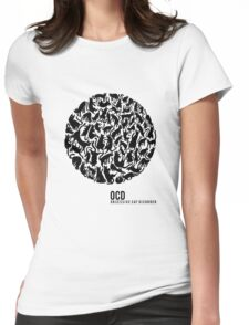 OCD - Obsessive Cat Disorder Womens Fitted T-Shirt