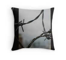 Caught in Fells Point, MD Throw Pillow