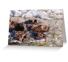Rocks in the Ocean, Gracetown, WA Greeting Card