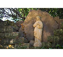 Mary Statue Photographic Print