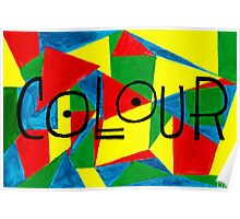 COLOUR and SHAPE  Poster