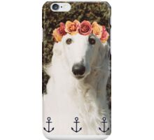 Borzoi Flower Child iPhone Case/Skin