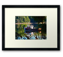 Reflections Of Heaven Framed Print