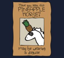 Have You Seen This Pineapple Horse? Kids Clothes