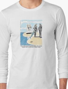 Bottom Feeder - marine biologists, scuba divers and a fish Long Sleeve T-Shirt