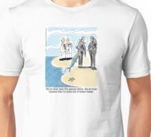 Bottom Feeder - marine biologists, scuba divers and a fish Unisex T-Shirt