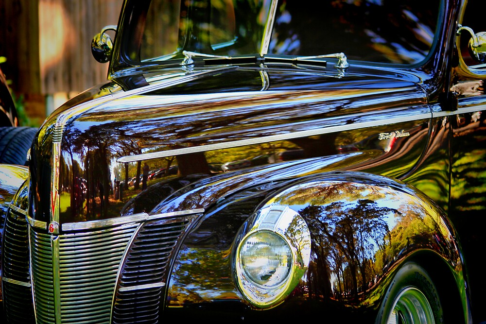 Reflections on Black by Xcarguy