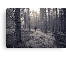 If you go into the woods... Canvas Print