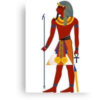Pharaoh of Egypt | Egyptian Gods, Goddesses, and Deities Canvas Print
