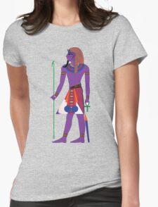 Pharaoh Tut [FRESH Colors]   Egyptian Gods, Goddesses, and Deities Womens Fitted T-Shirt