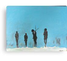 Stark Dark Figures Canvas Print