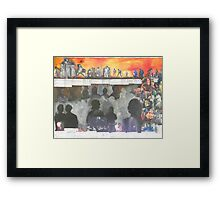 James Brown (A Tribute) Framed Print