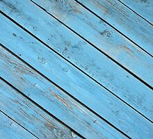 Old wooden boards, located on a diagonal by vladromensky
