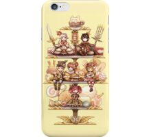sweet teatime iPhone Case/Skin