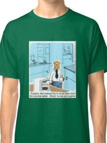 Just a Gopher - climb the corporate ladder? Classic T-Shirt