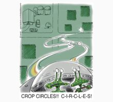 Crop Circles - Outer Space aliens can't make correct crop circles by 13thfloorcomic