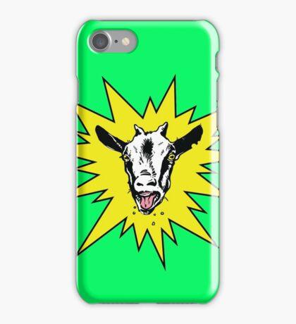 Crazy Goat! iPhone Case/Skin