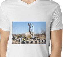 Witchita, Kansas-- Keeper Of The Plains If you like, please purchase, try a cell phone cover thanks Mens V-Neck T-Shirt