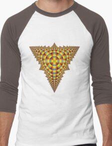 Pyramid Men's Baseball ¾ T-Shirt