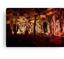 Halloween halls – Lehman Caves Canvas Print