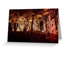 Halloween halls – Lehman Caves Greeting Card
