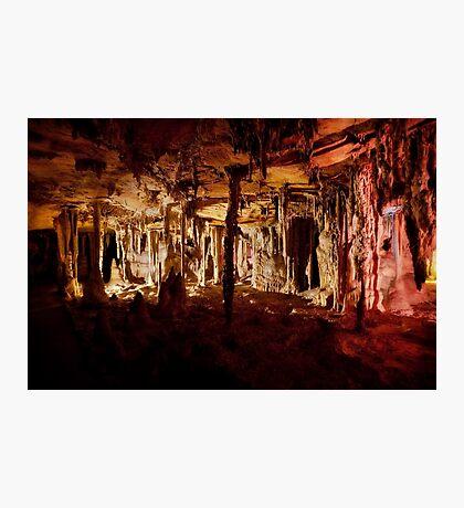 Halloween halls – Lehman Caves Photographic Print