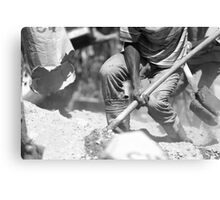 Shovel 2 Canvas Print
