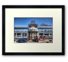 Fleetwood Diner Framed Print
