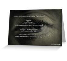 Postcard Poem #5 - Erika Greeting Card