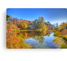 Fall in Wisconsin Canvas Print