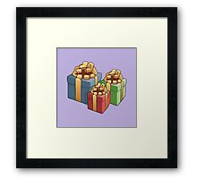 Presents for All. Framed Print