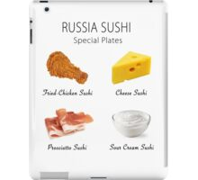 Russia Sushi's Special Plates iPad Case/Skin