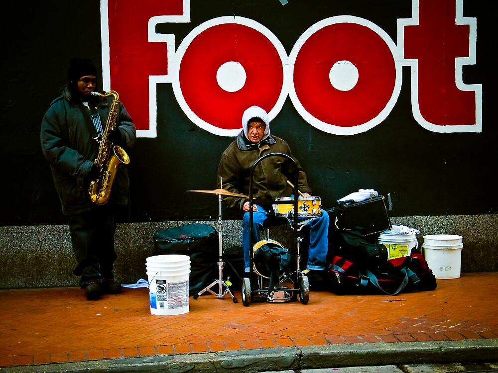 """Jazz Duo"" - New Orleans, Louisiana  by jscherr"