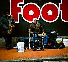 """Jazz Duo"" - New Orleans, Louisiana  by jscherr"